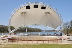 Modern Amphitheater Stage Stock Image