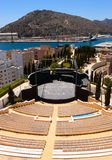 Modern amphitheatre in Cartagena Royalty Free Stock Photography