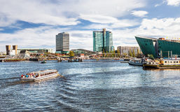 Modern Amsterdam. Netherlands Stock Image