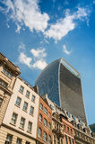 Modern and ancient architecture of London Stock Photography