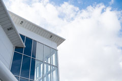 Modern angular building Royalty Free Stock Images