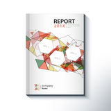Modern Annual report Cover design vector concept Stock Images