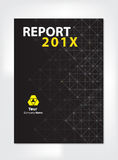 Modern Annual report Cover design Royalty Free Stock Photo
