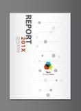 Modern Annual report Cover design Stock Image