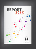 Modern Annual report Cover design Stock Images