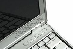 modern anteckningsbok för dator Arkivbild