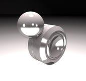 Modern anti-stress toy orbit 3d illustration. Royalty Free Stock Photography