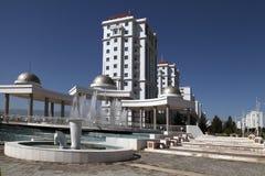 Modern apartamentes in Ashkhabad, Turkmenistan. View on the new modern apartamentes. Ashkhabad. Turkmenistan stock image