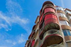 Modern apartmant byggnad Royaltyfria Foton