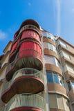Modern apartmant byggnad Arkivbilder
