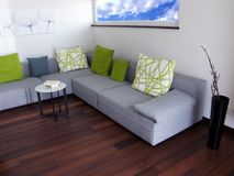 Modern apartment Stock Images