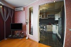 Modern apartment stock image