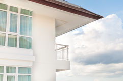 Modern apartment balcony beautiful Royalty Free Stock Photography