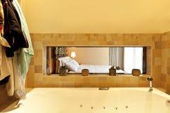 Modern apartment, bathroom Royalty Free Stock Photo