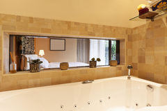 Modern apartment, bathroom Royalty Free Stock Images