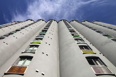 Modern apartment block Royalty Free Stock Photography