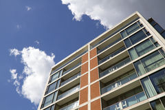 Modern Apartment Block Stock Images