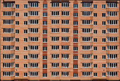 Modern apartment block Royalty Free Stock Photo