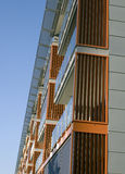 Modern apartment block exterior Royalty Free Stock Image