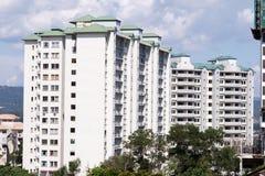 Modern Apartment Blocks Royalty Free Stock Photo