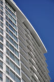 Modern Apartment Building. Against blue sky Stock Image