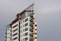 Modern apartment building Royalty Free Stock Image
