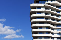 Modern apartment building Royalty Free Stock Photos