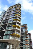 Modern apartment building blocks London Royalty Free Stock Image