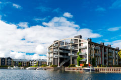 Modern apartment building at Copenhagen Stock Image