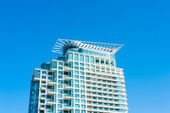 Modern apartment building Royalty Free Stock Photo