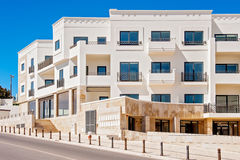 Modern apartment building in Lagos, Portugal Stock Images