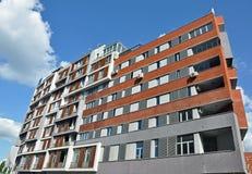 Modern apartment building Stock Photos