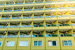 Modern apartment building. stock photography
