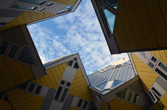 Modern apartment building in Rotterdam, Holland Royalty Free Stock Photo