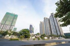 Modern apartment building in Saigon, Vietnam Stock Photography