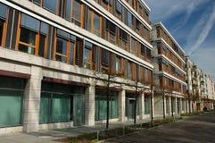 Modern Apartment Buildings Stock Photo