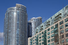 Modern apartment buildings Royalty Free Stock Photo