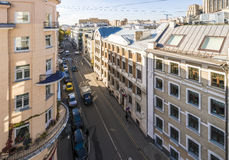 Modern apartment buildings in the central district of Moscow Stock Images