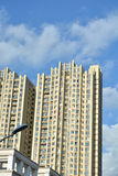 Modern apartment buildings. In china Royalty Free Stock Photos