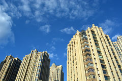 Modern apartment buildings. In china Stock Photo