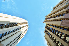Modern apartment buildings. In china Royalty Free Stock Photography