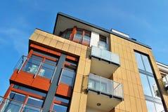 Modern apartment buildings exteriors Stock Photography