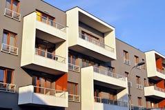 Modern apartment buildings exteriors Stock Photo