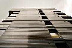 Modern apartment buildings exteriors. Stock Photos