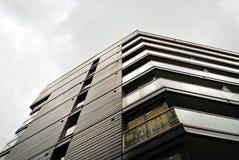 Modern apartment buildings exteriors. Royalty Free Stock Photos