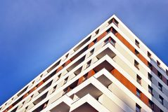 Modern apartment buildings exteriors Stock Photography