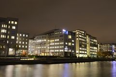 Modern apartment buildings Stock Image