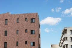 Modern apartment or condominium building exterior Royalty Free Stock Image