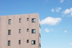 Modern apartment or condominium building exterior Stock Image