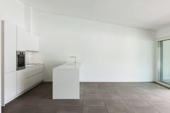 Modern apartment, domestic kitchen Stock Photo